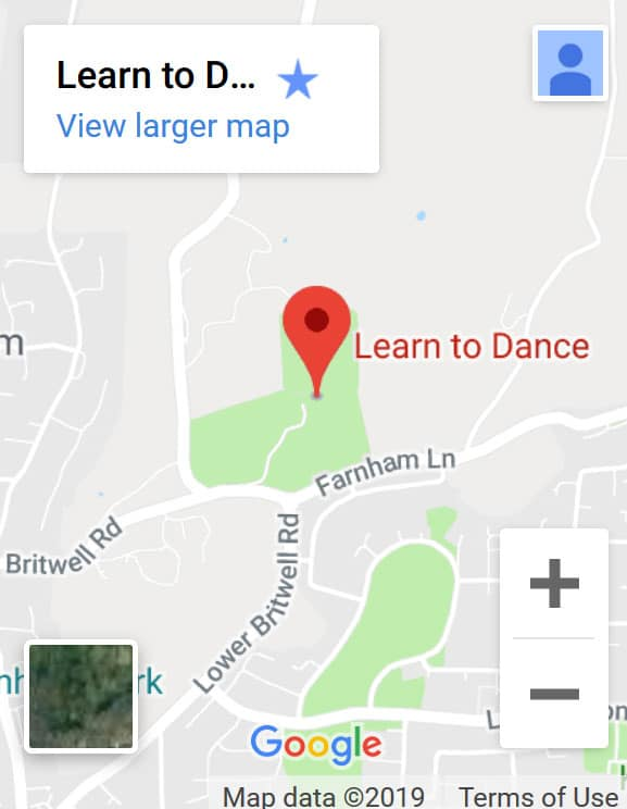 Learn To Dance Cherry Orchard Location