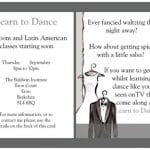 Our first ever flyer in 2006