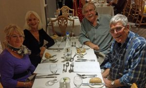 Bournemouth Rock and Roll Theme Dance Break Weekend Dinner