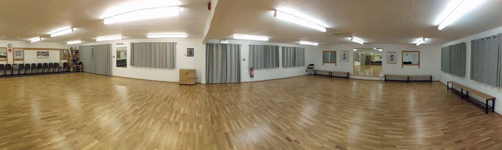 Cherry Orchard Dance Studio Venue Hire Interior Panoramic