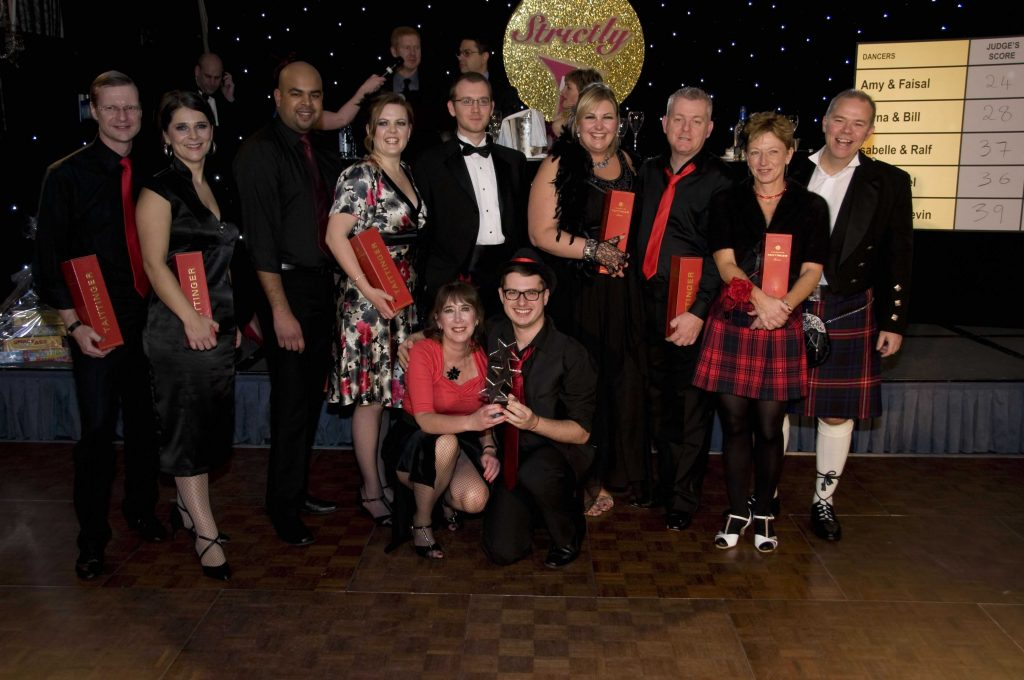 Strictly Themed Christmas Party Competition