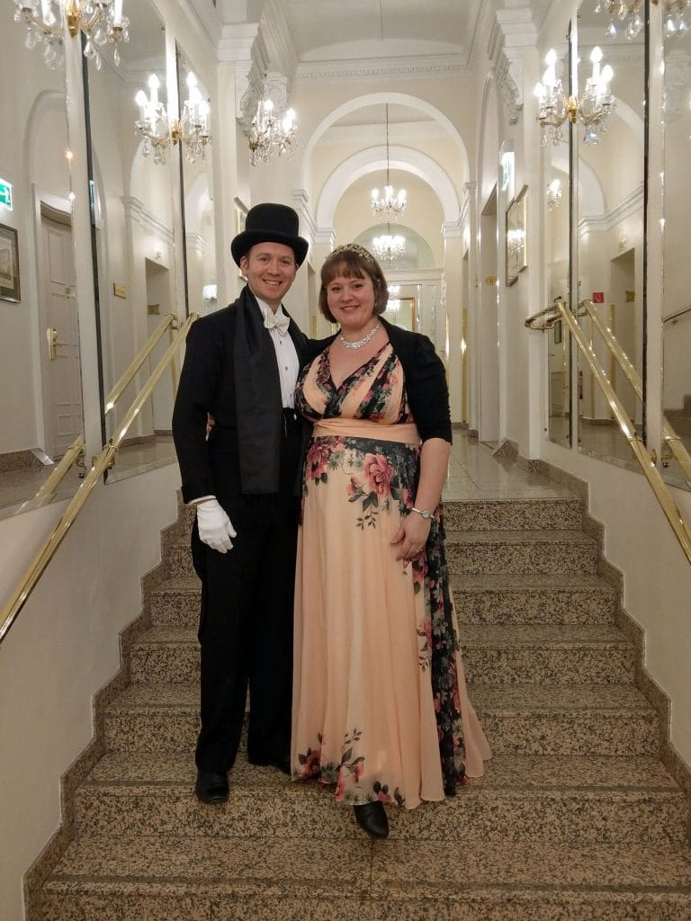 Johann Strauss Ball Vienna Dance Break Weekend Outfits
