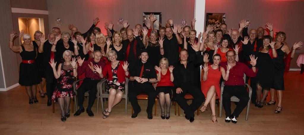 Red & Black 'Latin Love' theme