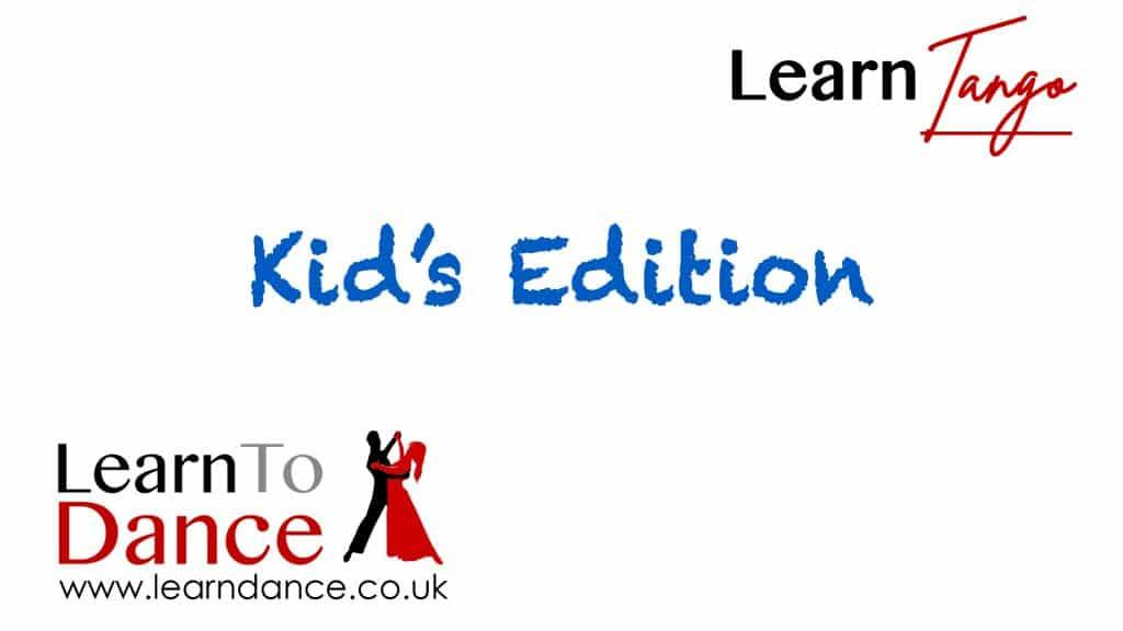 Kid's Tango online ballroom dance video thumbnail