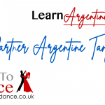 Learn Argentine Tango with a partner online lesson video thumbnail