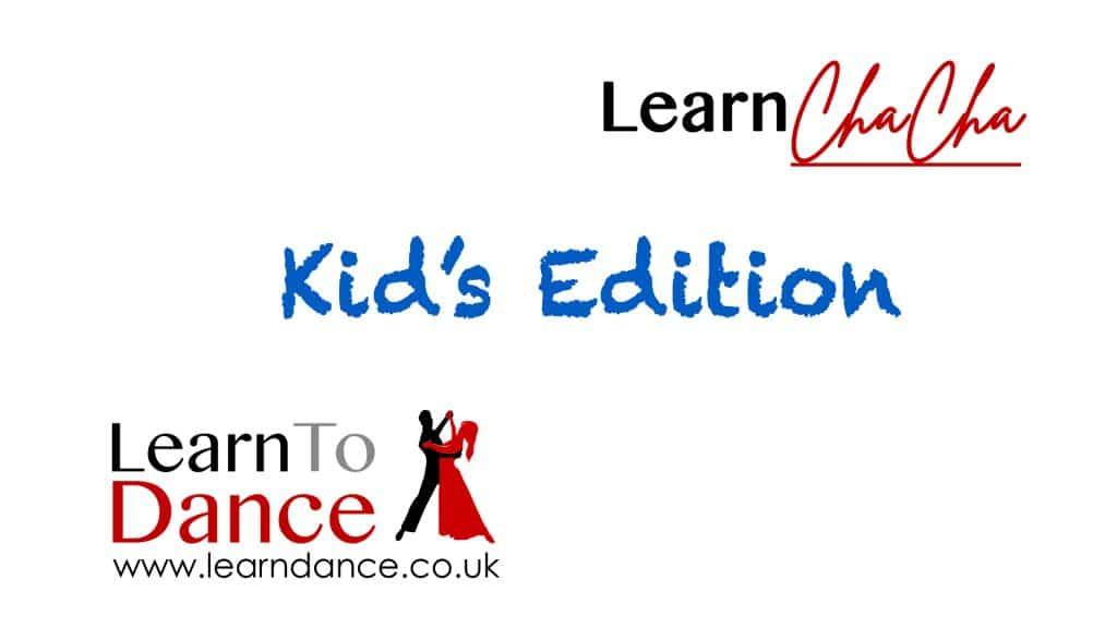 Kids Cha Cha Cha ballroom dance video thumbnail