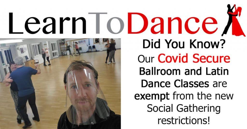 Social Gathering Limit Dance School Exempt
