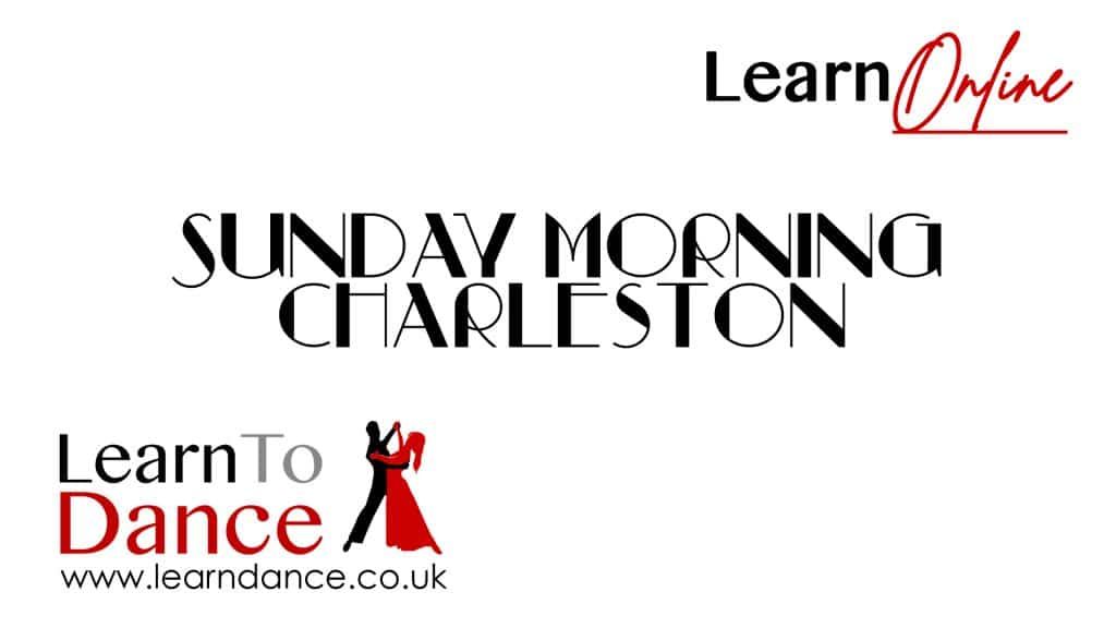 Slide with Sunday Morning Charleston to advertise our basic beginner Youtube lesson