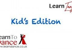 Kid's Tango online ballroom dance video thumbnail