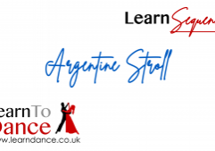 Argentine Stroll sequence dance online video thumbnail