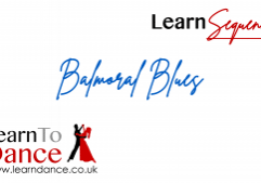 Balmoral Blues sequence dance online video thumbnail