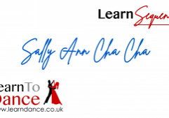 Sally Ann Cha Cha sequence dance online video thumbnail