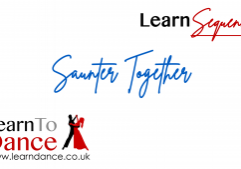 Saunter Together sequence dance online video thumbnail