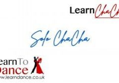 Solo Cha Cha Cha routine online video thumbnail