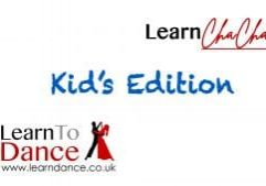 Kids Cha Cha Cha ballroom dance video thumbnail