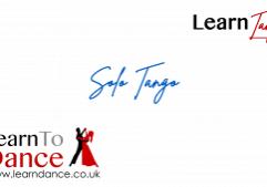Solo Tango routine online video thumbnail